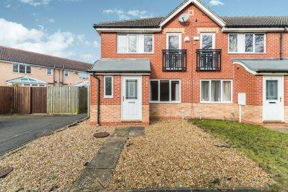 3 Bedrooms End Of Terrace House for sale in Wain Avenue, Chesterfield, Derbyshire