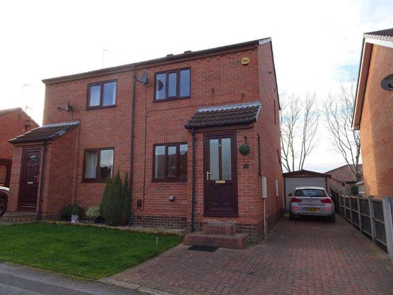 2 Bedrooms Semi Detached House for rent in Bradshaw Avenue, Treeton, Rotherham