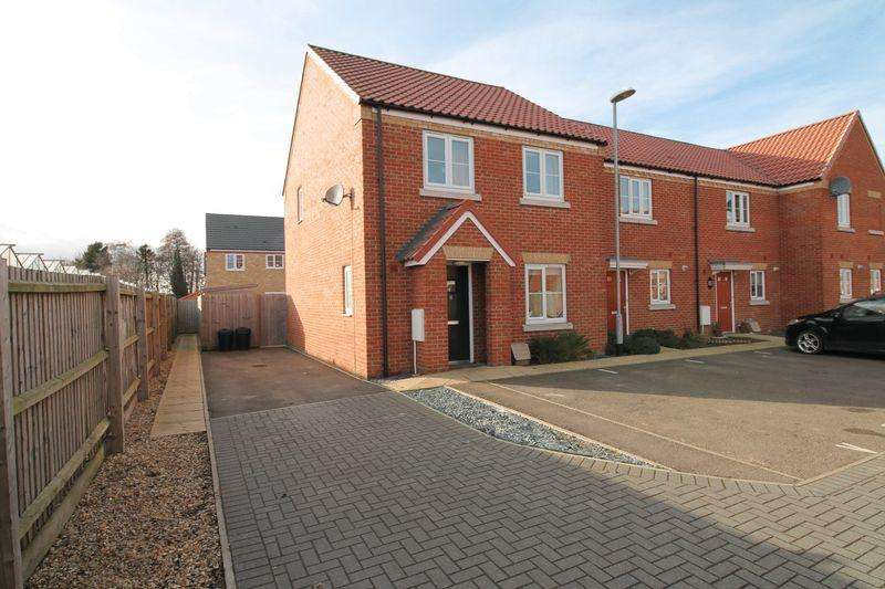 3 Bedrooms End Of Terrace House for sale in Tweed Close, Spalding