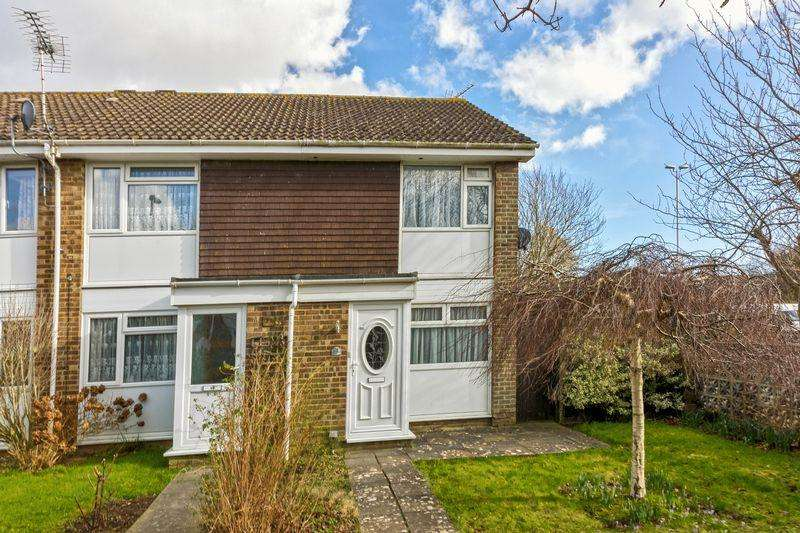2 Bedrooms End Of Terrace House for sale in Ontario Close, Worthing