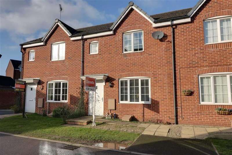 3 Bedrooms Terraced House for sale in Cowslip Close, Huntington, Staffordshire