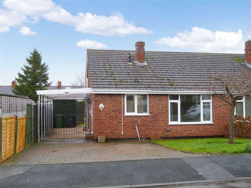 2 Bedrooms Semi Detached Bungalow for rent in Hollywood Drive, Highley, Bridgnorth