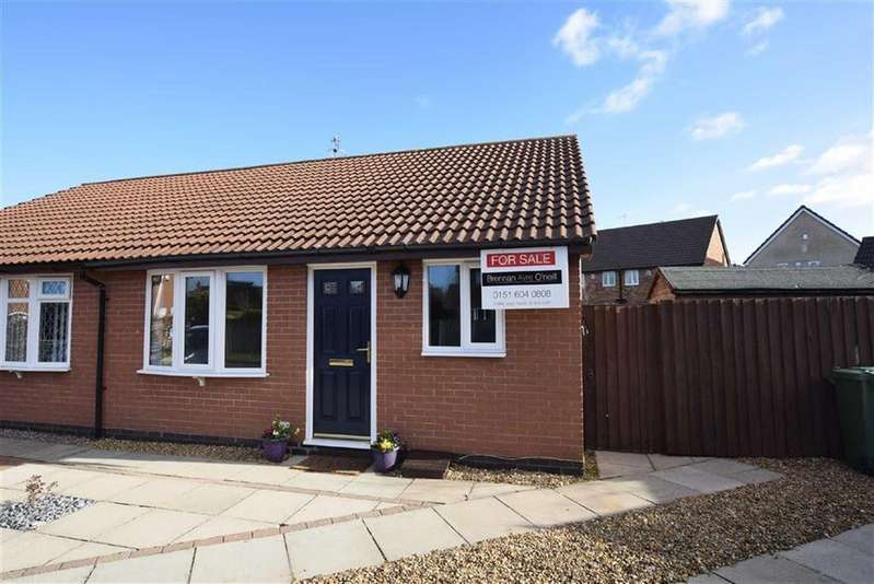 2 Bedrooms Semi Detached Bungalow for sale in Anstey Close, CH46