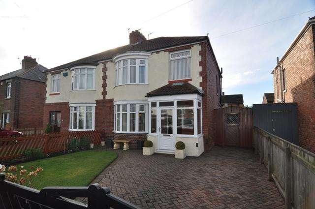 3 Bedrooms Semi Detached House for sale in Rock Road, Spennymoor DL16