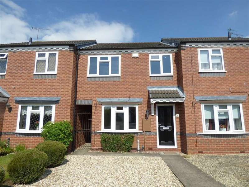 3 Bedrooms Terraced House for rent in Carson Way, Stafford