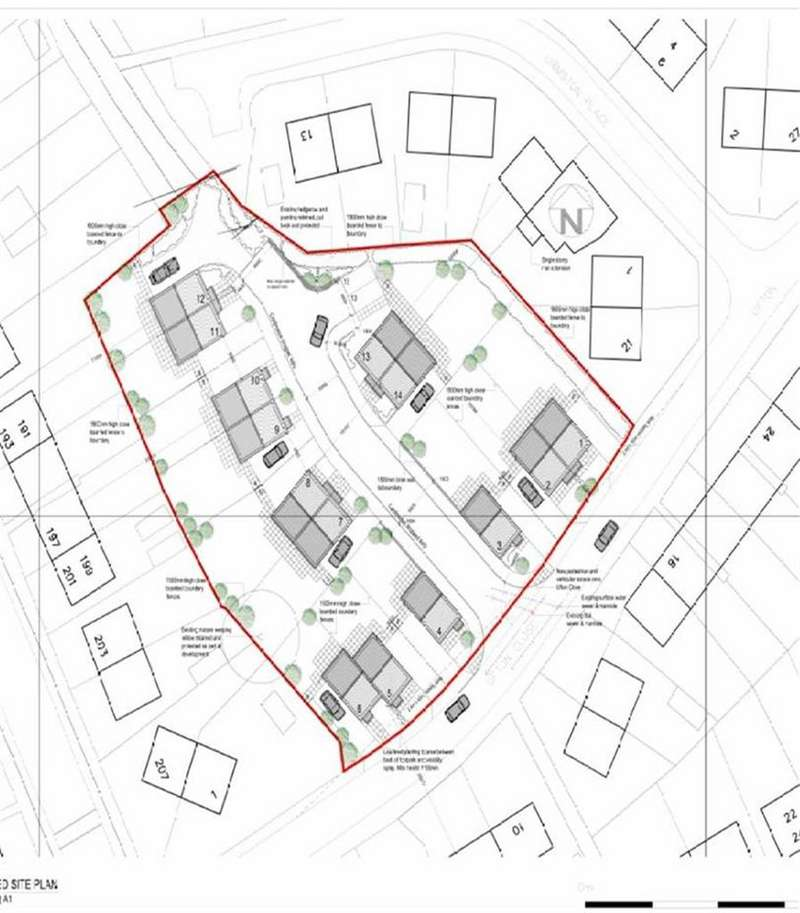 Land Commercial for sale in Ufton Close, Newstead