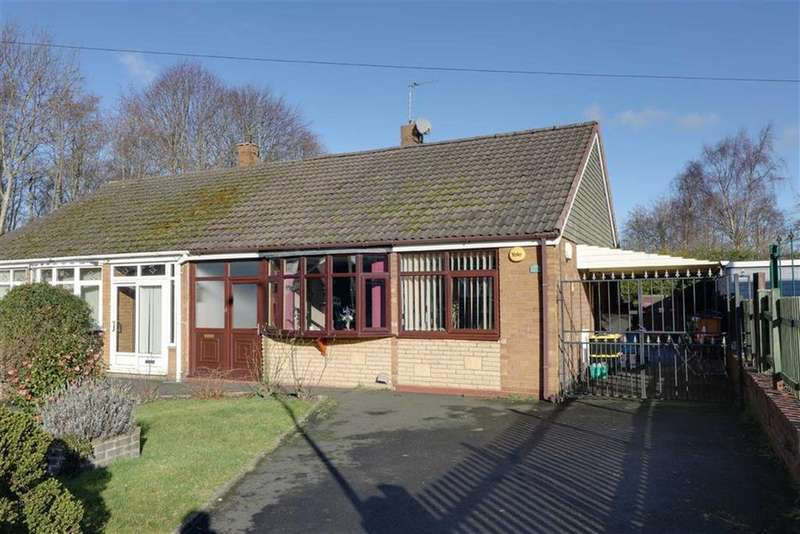 2 Bedrooms Semi Detached Bungalow for sale in John Street, Cannock, Staffordshire