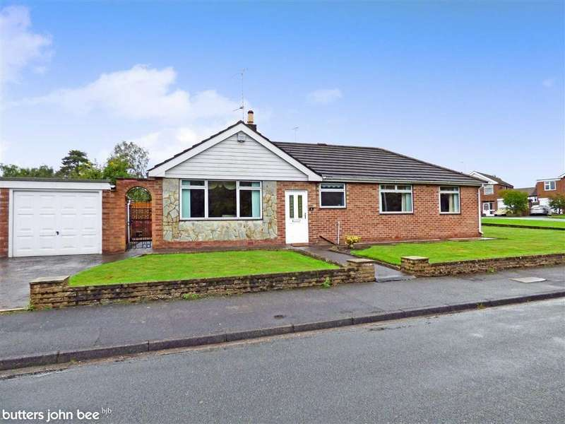 3 Bedrooms Detached Bungalow for sale in Collinbrook Avenue, Crewe