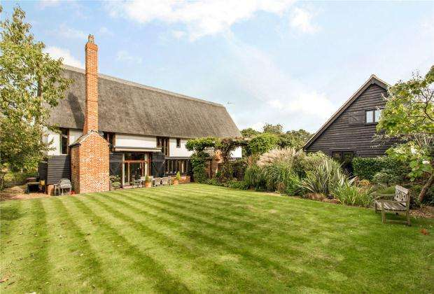6 Bedrooms Detached House for sale in Manor Farm, The Street, Little Thurlow, Suffolk