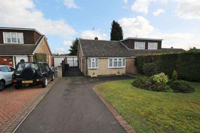 2 Bedrooms Semi Detached Bungalow for sale in Stirling Crescent, Summer Hayes, Willenhall