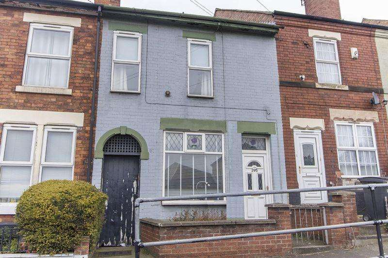 2 Bedrooms Terraced House for sale in NOTTINGHAM ROAD, CHADDESDEN