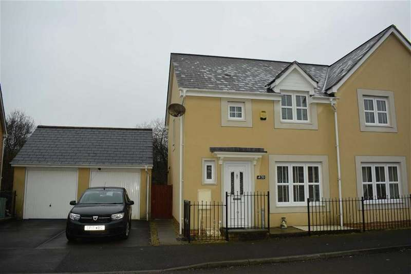 3 Bedrooms Semi Detached House for sale in Gelli Deg, Fforestfach, Swansea