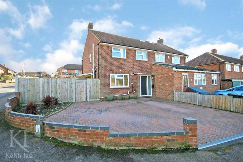 3 Bedrooms Semi Detached House for sale in Scope to extend, Lower Clabdens, Ware
