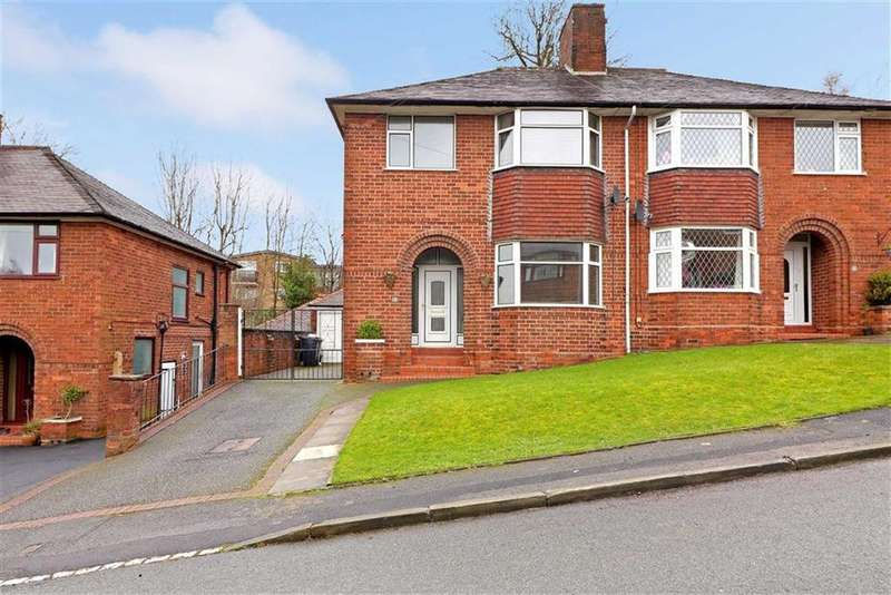 3 Bedrooms Semi Detached House for sale in Bramfield Drive, Newcastle-under-Lyme