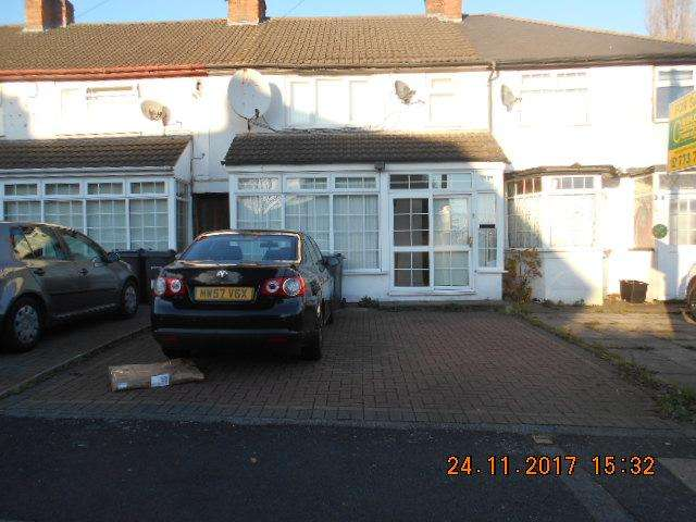 3 Bedrooms Terraced House for sale in Repton Road, Bordesley Green, Birmingham B9