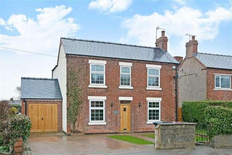 3 Bedrooms Detached House for sale in 4, Matlock Road, Wessington, Alfreton, Derbyshire, DE55