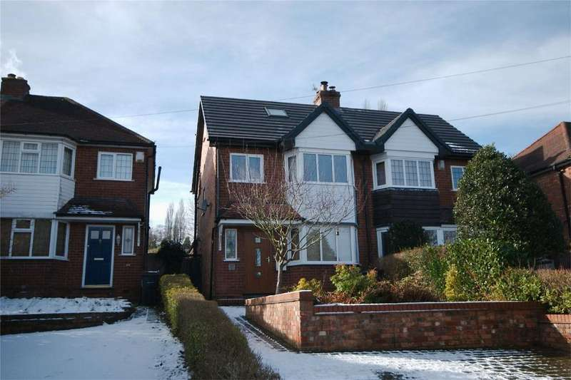 3 Bedrooms Semi Detached House for sale in Clarence Road, Four Oaks, SUTTON COLDFIELD, West Midlands