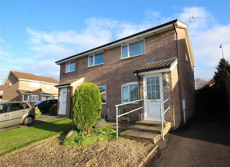 2 Bedrooms Semi Detached House for sale in Breaches Gate, Bradley Stoke, Bristol, BS32