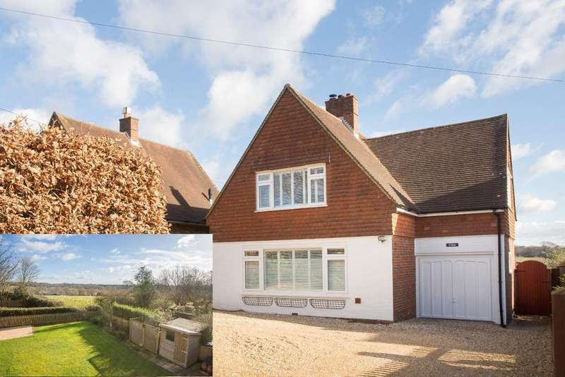 4 Bedrooms Detached House for sale in School Hill, Old Heathfield, East Sussex, TN21 9AE