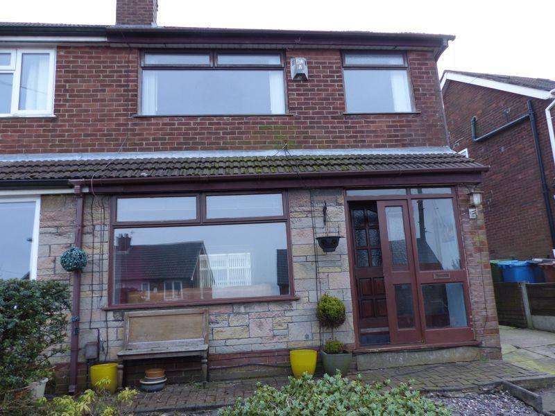 3 Bedrooms Semi Detached House for sale in Holcombe View Close, Moorside
