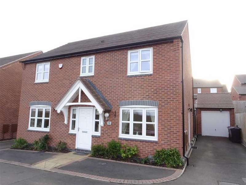 4 Bedrooms Detached House for sale in Helsinki Drive, Hinckley