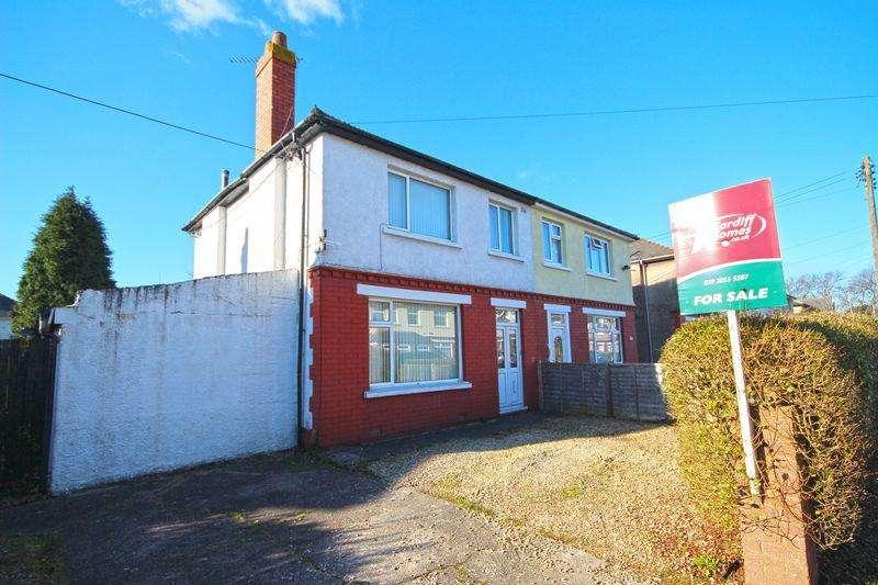 3 Bedrooms Semi Detached House for sale in Claremont Crescent, Rumney