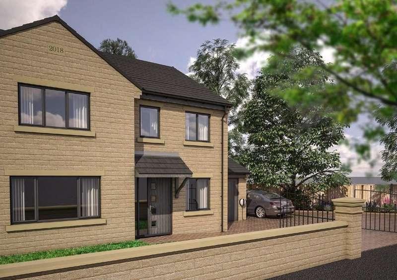 4 Bedrooms Detached House for sale in Westfield Lane, Scholes, Bradford