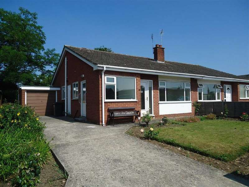 2 Bedrooms Semi Detached Bungalow for rent in St Marys Walk, Thirsk