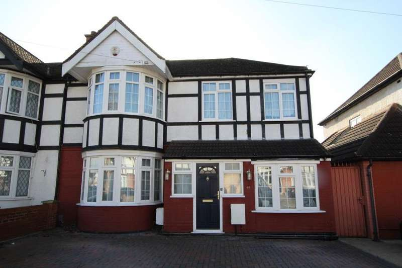 4 Bedrooms End Of Terrace House for sale in Alicia Avenue, Kenton, HA3 8HS