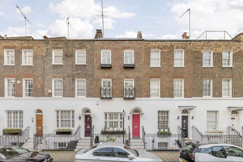 4 Bedrooms Terraced House for sale in Montpelier Place, Knightsbridge