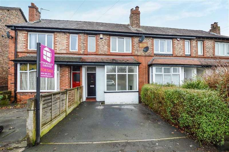 3 Bedrooms Terraced House for sale in Moss Lane, Hale, Cheshire, WA15