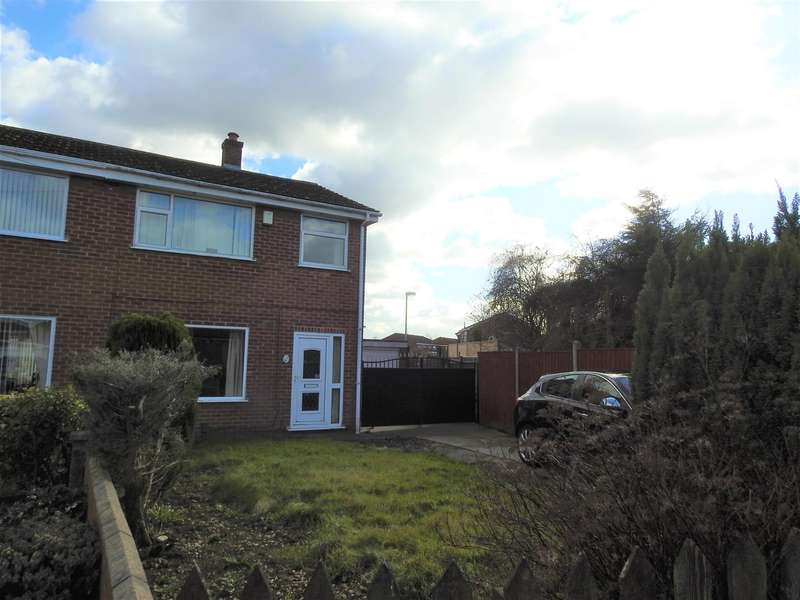 3 Bedrooms Semi Detached House for sale in Kiwi Close, Hucknall, Nottingham
