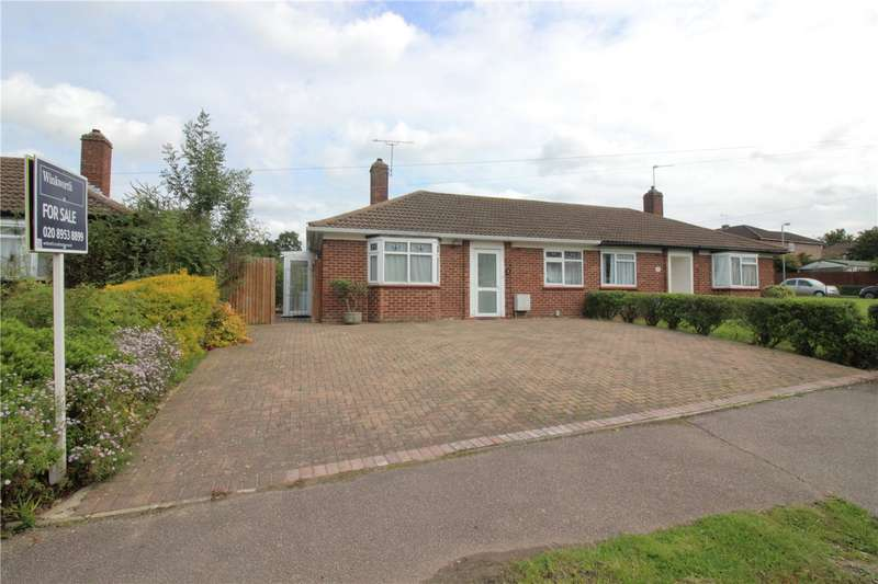 2 Bedrooms Semi Detached Bungalow for sale in Cardinal Avenue, Borehamwood, Hertfordshire, WD6