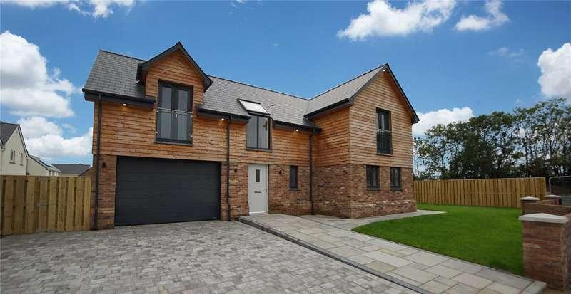 4 Bedrooms Detached House for sale in Little Cedar Drive, Camrose, Haverfordwest