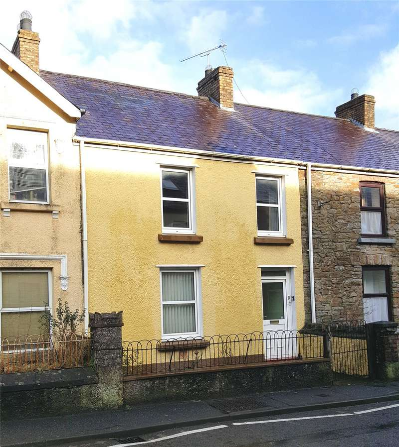 3 Bedrooms Terraced House for sale in Ashgrove Llangan Road, Whitland, Sir Gaerfyrddin