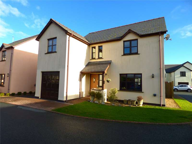 4 Bedrooms Detached House for sale in Brook Meadows, Sageston, Tenby