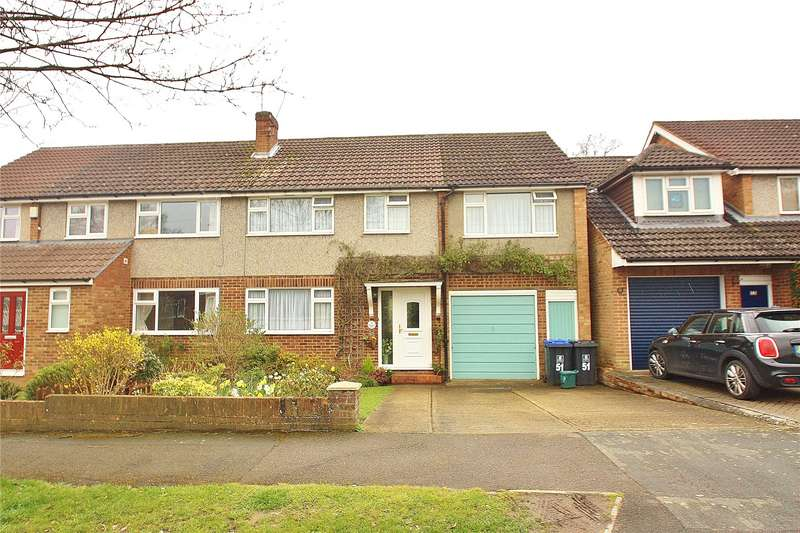 4 Bedrooms Semi Detached House for sale in Gorsewood Road, St Johns, GU21