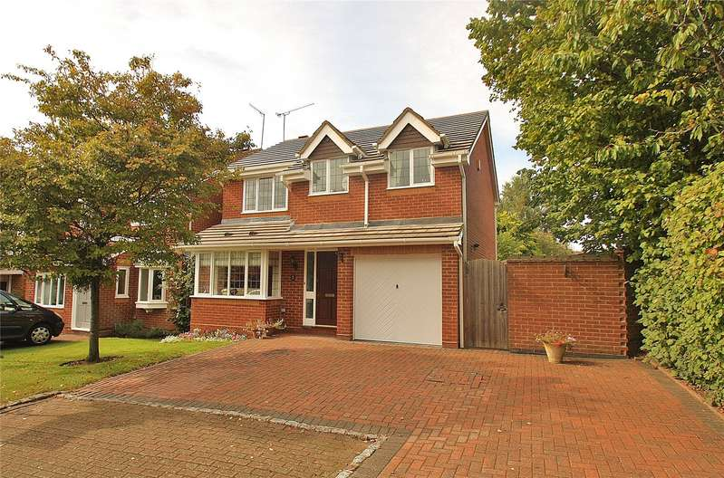 4 Bedrooms Detached House for sale in Prunus Close, West End, Woking, Surrey, GU24