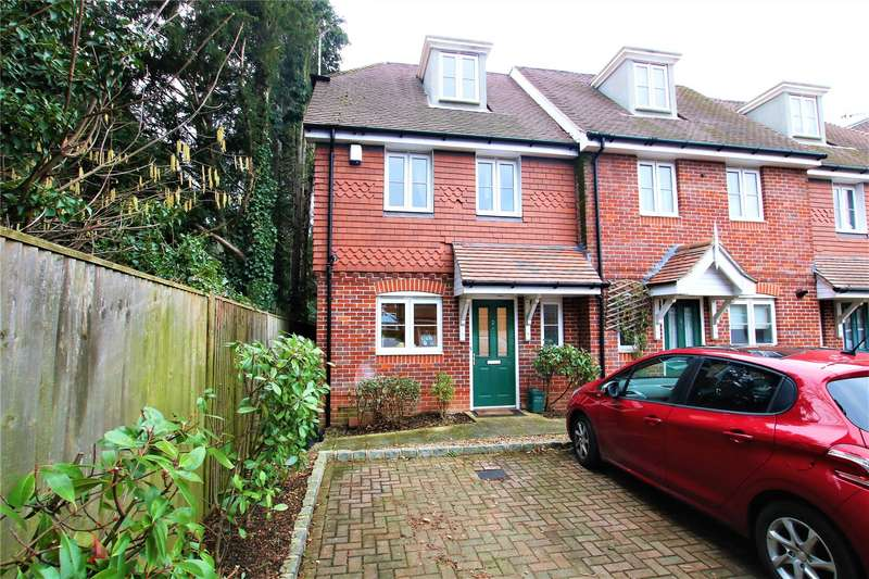 4 Bedrooms End Of Terrace House for sale in Foxhollow Close, Walton-on-Thames, Surrey, KT12