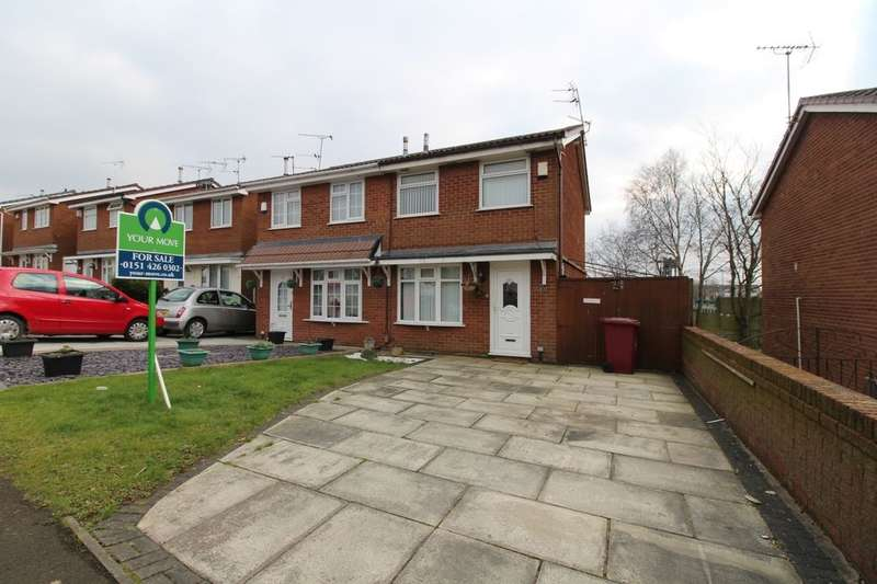 2 Bedrooms Property for sale in Pinnington Road, Whiston, Prescot, L35