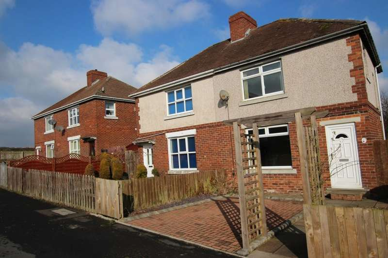 3 Bedrooms Semi Detached House for sale in Woodside Grove, Tantobie, Stanley, DH9