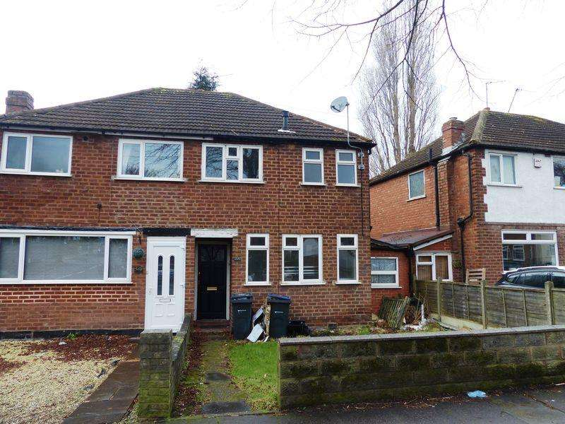 2 Bedrooms Semi Detached House for sale in Birdbrook Road, Birmingham
