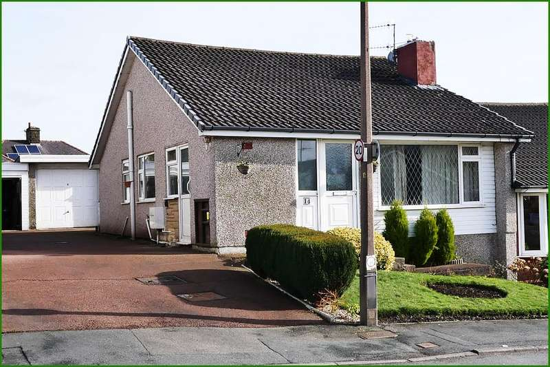 2 Bedrooms Semi Detached Bungalow for sale in Monkroyd Avenue, Barnoldswick BB18