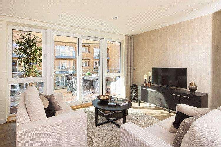 2 Bedrooms Flat for sale in 332, The Dunbar, Lymington Shores, Bridge Street, Lymington, SO41