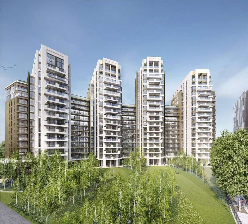 2 Bedrooms Flat for sale in Paddington Gardens, North Wharf Road, London