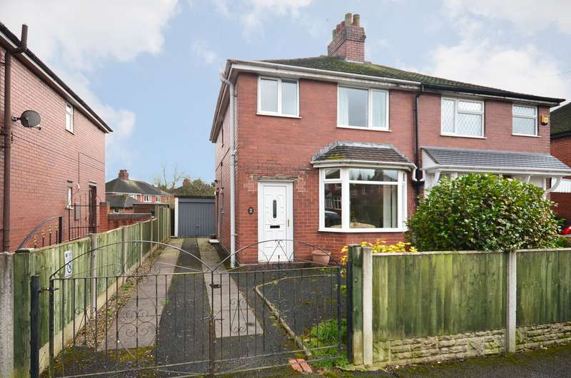 3 Bedrooms Semi Detached House for sale in Hollinshead Avenue, Newcastle ST5