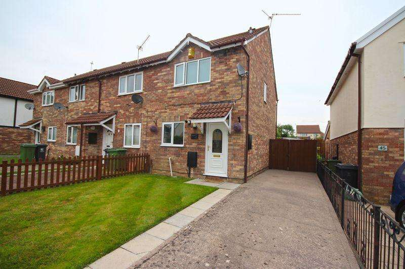 2 Bedrooms Semi Detached House for rent in Sanderling Drive, St Mellons
