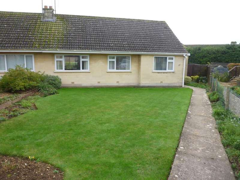 3 Bedrooms Semi Detached Bungalow for rent in DOWNS CLOSE, BRADFORD ON AVON