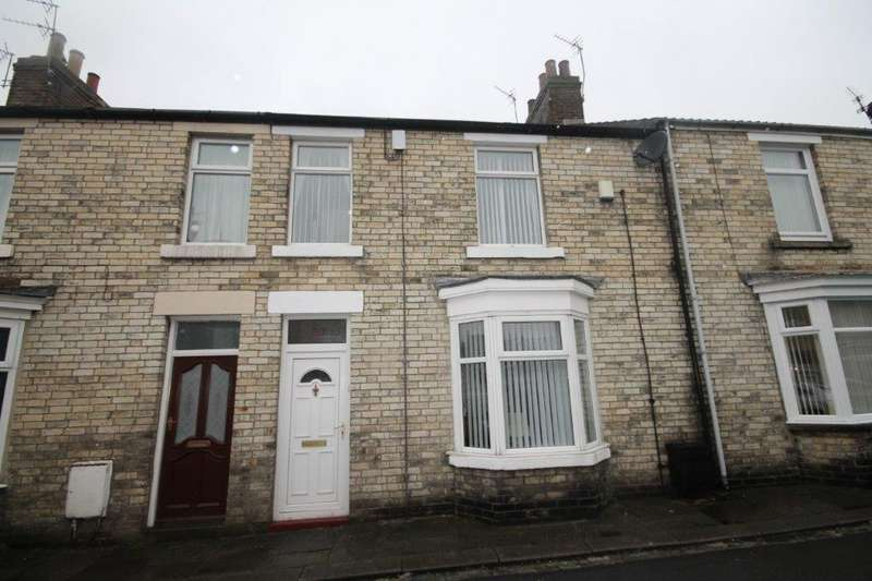 3 Bedrooms Terraced House for sale in Gladstone Street, Crook