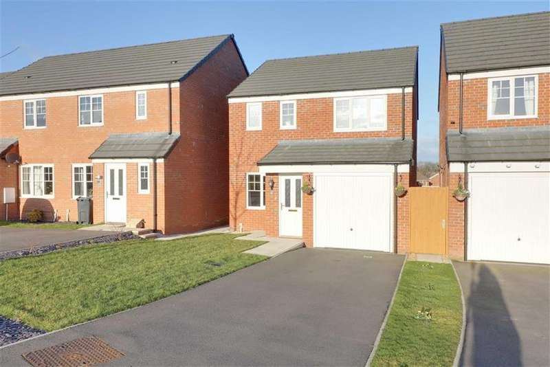 3 Bedrooms Detached House for sale in Rosemary Crescent, Winsford, Cheshire